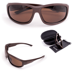 Тактические очки Cold Steel Battle Shades Mark-II (Matte Brown) EW23M